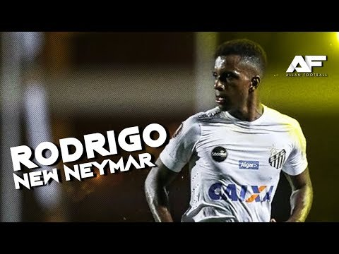 Rodrygo Goes 2018 • Santos • Skills & Goals • HD