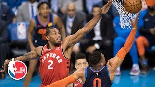 Russell Westbrook ties it late, but Raptors beat the Thunder in OT | NBA Highlights