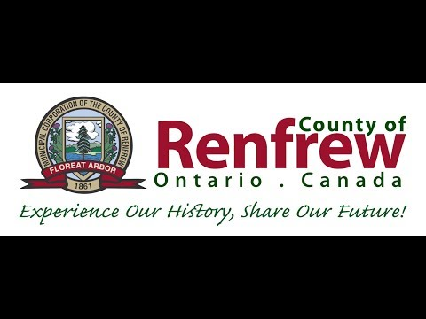 County of Renfrew County Council April 26th 2017
