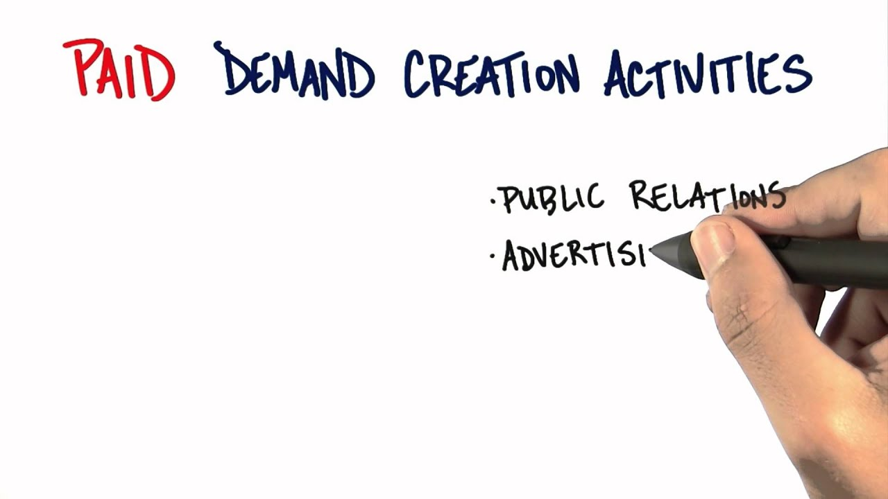 Paid Demand Creation - How to Build a Startup