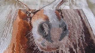 Вышивка крестом  СП Животные. Отчет 3