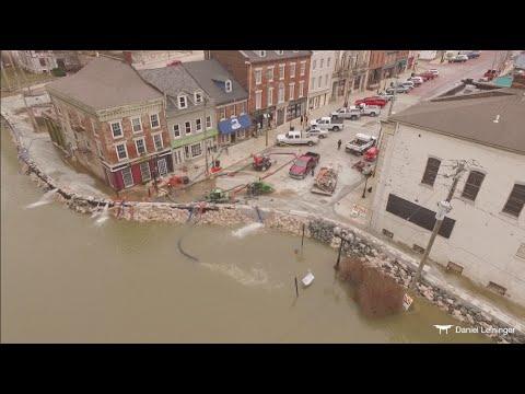 Mississippi River Flooding in Alton, IL (2015/2016)
