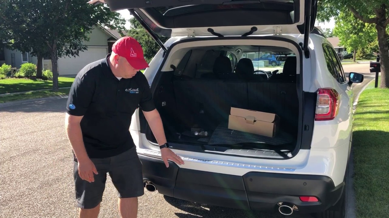 How To Access The Hitch Receiver On 2019 Subaru Ascent Boise