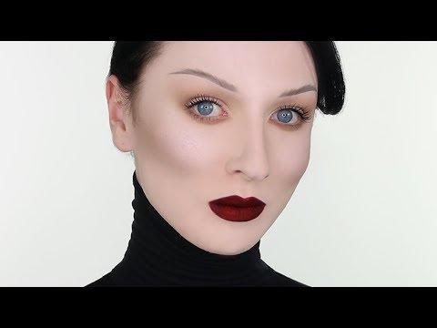 Gothic Vamp Dark Lips Makeup  John Maclean