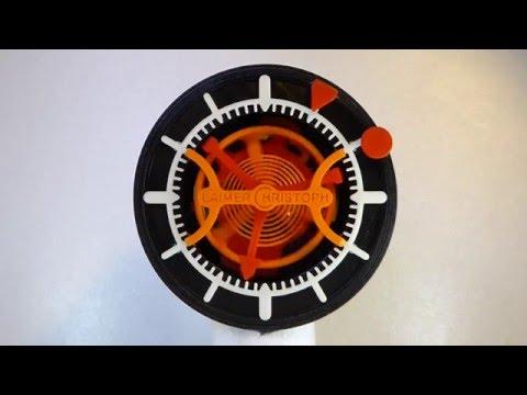3D-printed Watch with Tourbillon - 6'240 Ticks of deadly Dullness