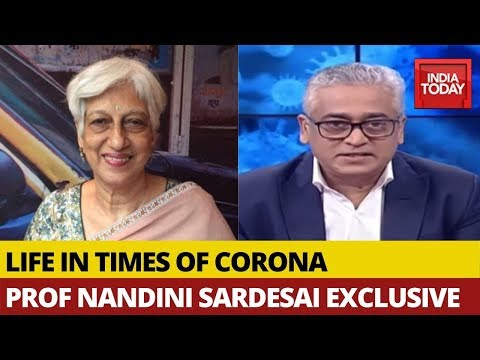Prof. Nandini Sardesai In Conversation With Her Son Rajdeep Sardesai On Life In Times Of Corona