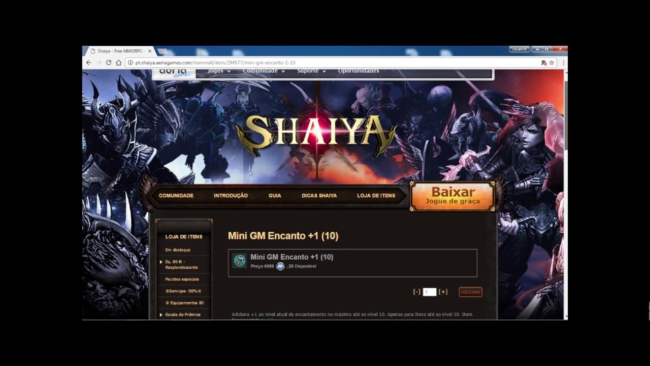COMO PT BAIXAR SHAIYA
