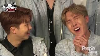 29.08.2017 K-Pop Group BTS On Confessions - People NOW - (Türkçe Altyazılı)