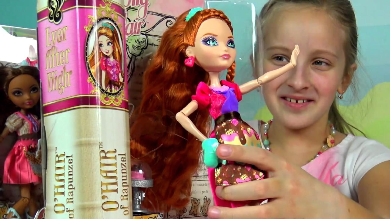 Кукла Блонди Локс Эпическая зима Ever After High - YouTube