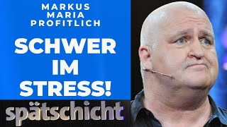 Markus Maria Profitlich ist im Freizeit-Stress