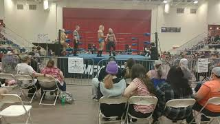 August Artois vs nZo (Enzo) with help from Shawn Hernandez and Big Cass (Lariato Pro)