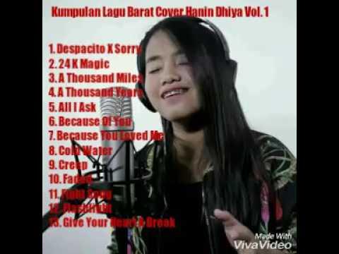 Lagu Barat Versi Cover Paling Bagus, Hanin Dhiya Cover Vol. 1 Full Album