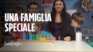 """Monia, Gabriele e la loro famiglia speciale: """"Abbiamo tre figli autistici e sono meravigliosi"""""""