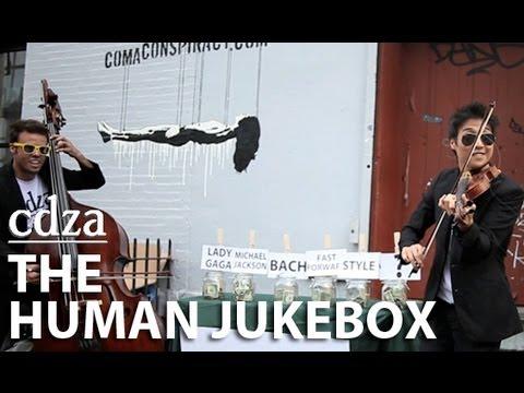 Menschliche Jukebox - Zwei talentierte Musiker