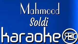 Mahmood - Soldi | Karaoke, Lyrics, Instrumental (Italy Eurovision 2019)