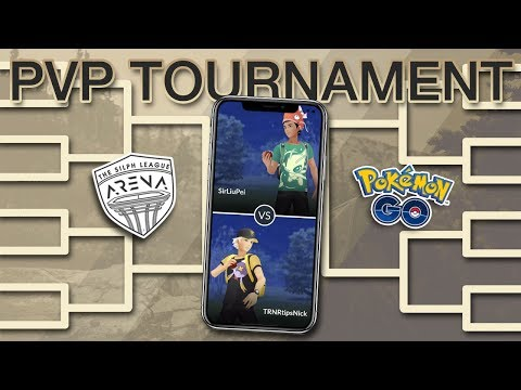 FIRST EVER POKÉMON GO PVP TOURNAMENT LIVE!