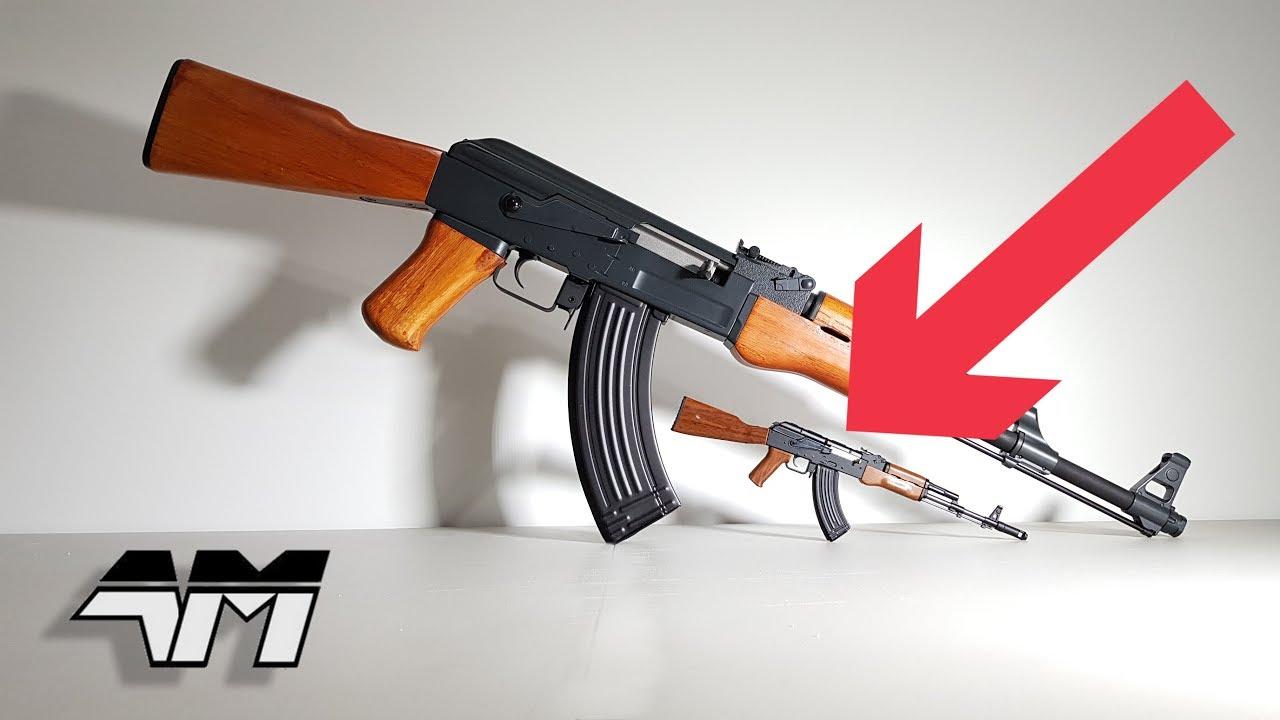 Tiny Ak 47 From Goatguns Ak 74 Hybrid Unboxing Review Youtube