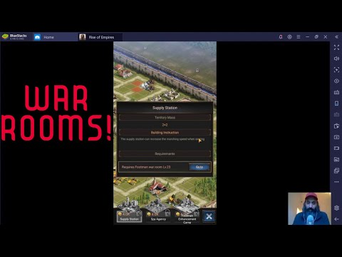 WAR ROOMS (Rise Of Empires Ice And Fire Gamplay)