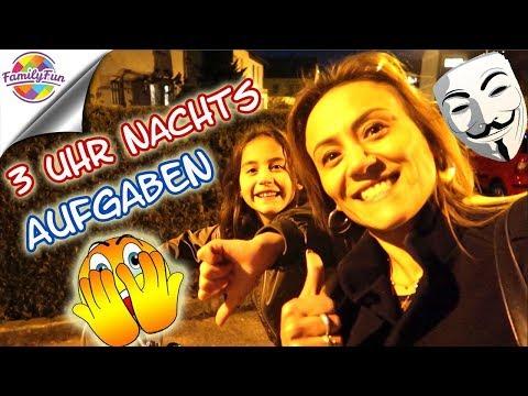 3 UHR NACHTS ALLEINE GAME MASTER Aufgaben - Family Fun