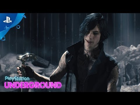 Devil May Cry 5 - V, Dante, Nero Gameplay | PS Underground