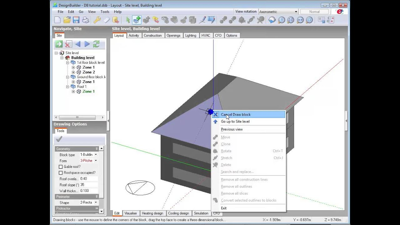 2.5 Adding Roofs Basics: Roof Angle Conventions, Pitched And Extruded Roofs    YouTube