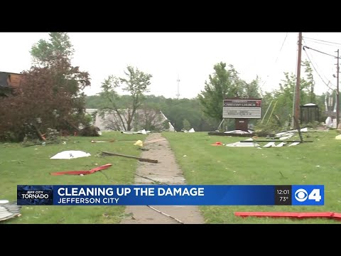 Damage In Jefferson City After Tornado Ripped Through Town Overnight