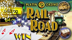 WIN  Platin Casino- RAILROAD auf 1€ und 2.50€