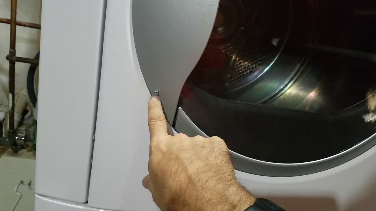 How To Fix Your Door On A Kenmore Dryer Or Washing Machine For 1 Youtube
