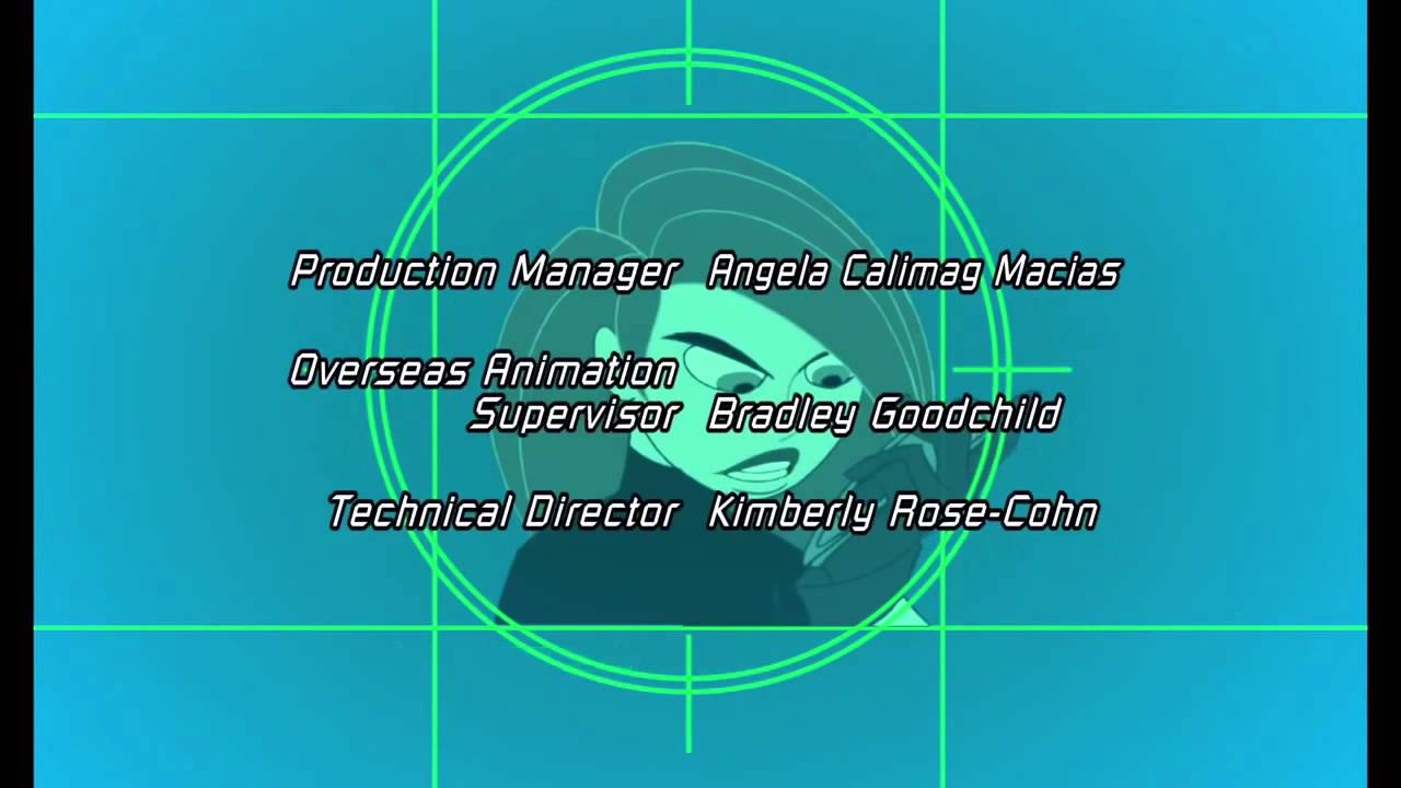 Kim Possible Season 1 3 Credits Youtube
