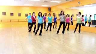 Push For The Stride - Line Dance (Dance & Teach in English & 中文)