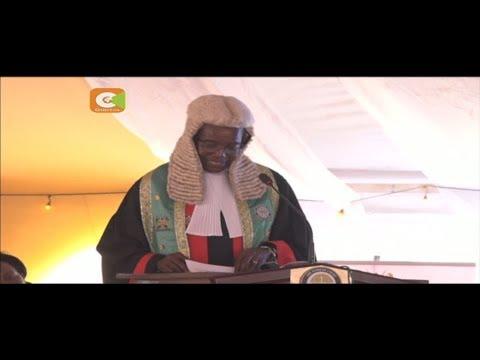 Jaji mkuu David Maraga ahimiza ushirikiano serikalini