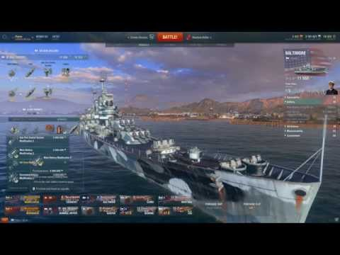 World of Warships: The Beautiful Baltimore - Commentary [146k Damage]