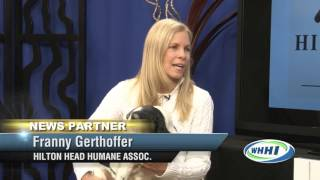 TALK OF THE TOWN | Franny Gerthoffer, HH Humane | 1-19-2016 | Only on WHHI-TV