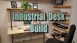 Industrial Computer Desk Build