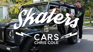 Skaters In Cars: Chris Cole | X Games