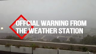 WARNING - Cape Town  - STORM ALERT -150kmph  - WIND