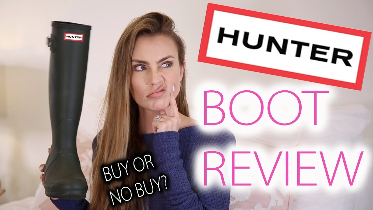 innovative design 496f4 91cae Hunter Boot Collection and Full Review 2017
