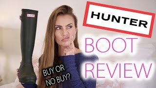 Hunter Boot Collection and Full Review 2017