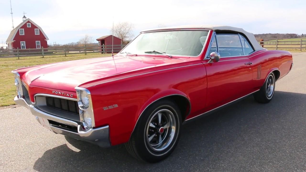 1967 pontiac tempest le mans 326 convertible for sale. Black Bedroom Furniture Sets. Home Design Ideas