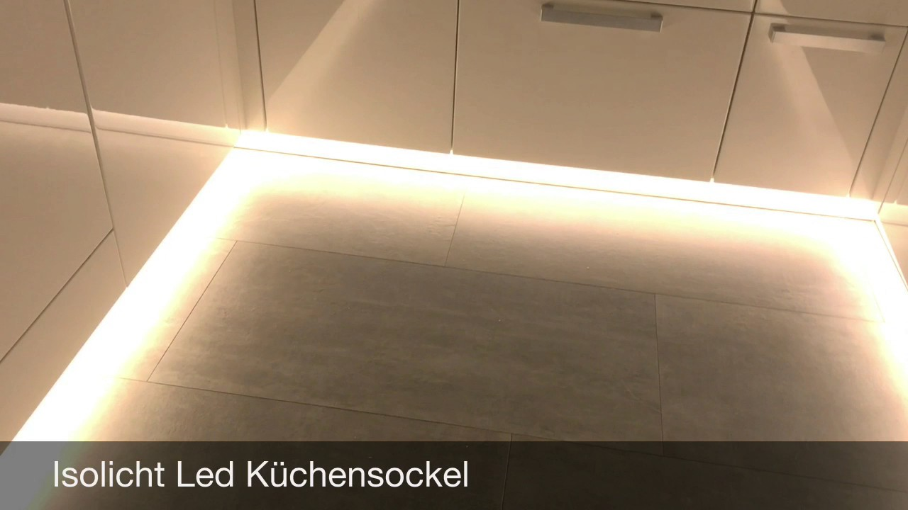 Led Sockel Küche - YouTube