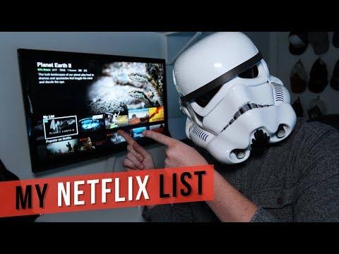 What's on my Netflix list?  21 Feb 2018
