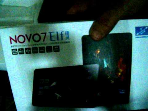 Ainol Novo 7 Elf 8GB Android 4.0 Unboxing