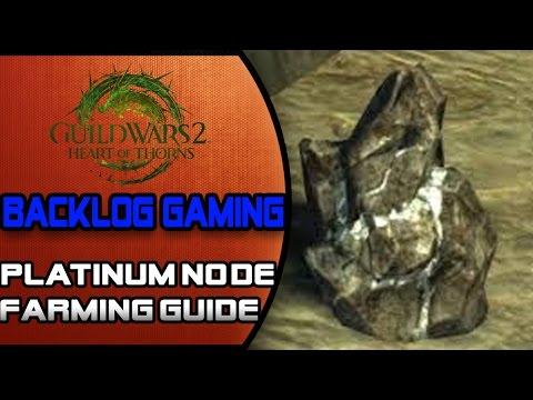 Guild Wars 2: Rich Platinum Ore Farming Guide