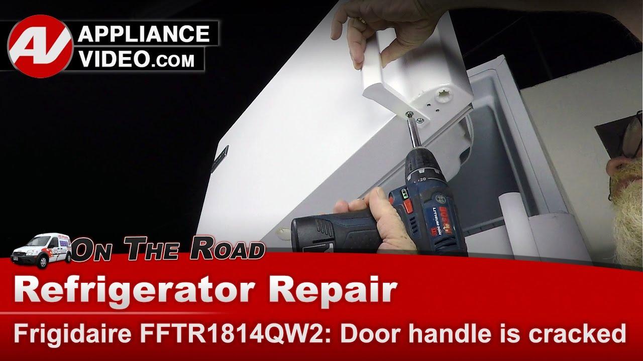 Frigidaire Electrolux Refrigerator Door Handle Issue
