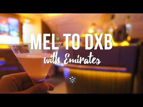 MEL ✈️ DXB | Emirates EK405 | Business | A380-800 | Flight Report + Lounge Visit