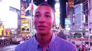 All Access: Dante Exum Explores Times Square