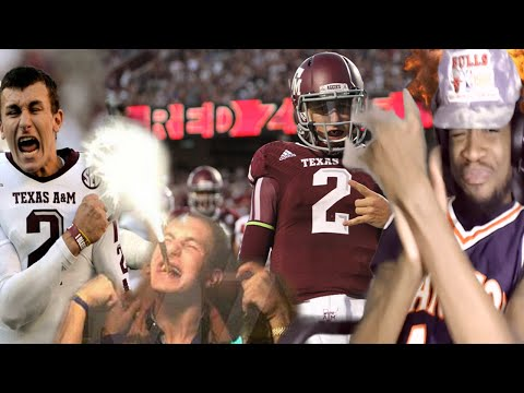 SOMETHING OUT OF NOTHING! ULTIMATE JOHNNY MANZIEL HIGHLIGHTS REACTION!!
