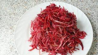 Очень полезный Салат по - корейски из свежих овощей.