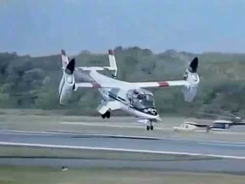 NASA Tiltrotor / Rotorcraft Research - CharlieDeanArchives / Archival Footage
