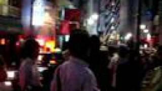 渋谷温泉爆発 #7 夜入口前 Tokyo spa explosion シエスパ 検索動画 24
